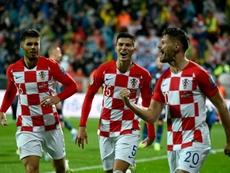 Croacia, a la Eurocopa bajo el mando de Modric. AFP