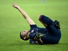 Lucas Hernandez a vécu une saison compliquée. AFP