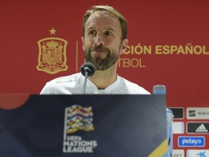 Southgate was proud of England's first win in Spain for 28 years. AFP