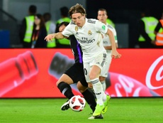 El futuro de Modric vuelve a estar en el aire. AFP