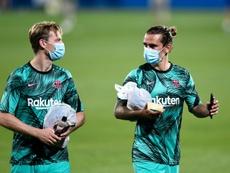 Wenger analizó la situación de Griezmann en el Barça. AFP