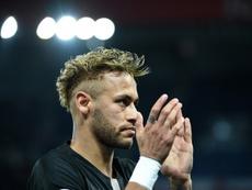Neymar querría volver al Barça. AFP