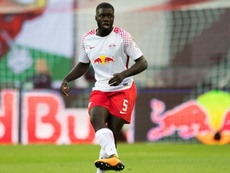 Upamecano could be moving to Manchester. AFP