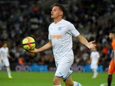 Thauvin pourrait rester à Marseille. AFP