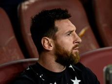 Messi no ha tenido contactos con la franquicia de Beckham. AFP