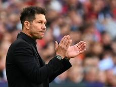 Simeone habló sobre su posible futuro en la Selección. AFP