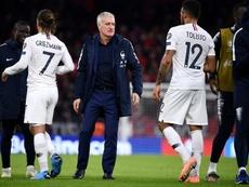 Deschamps cree que la vuelta del fútbol es prematura. AFP