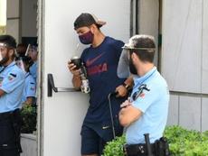 Luis Suárez refuse l'offre d'indemnités du Barça. AFP