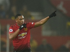 Both Martial and Lindelof are expected to be fit to feature. AFP
