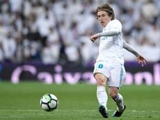 Sigue el lío con Modric. AFP