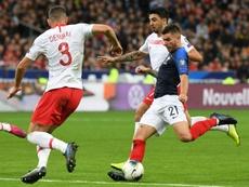 Kovac hace las paces con Deschamps tras la convocatoria de Lucas. AFP