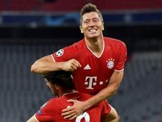 Lewandowski insegue il record di Ronaldo. AFP