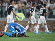 Koulibaly se rumorea que podría dejar el Nápoles en verano. AFP/Archivo