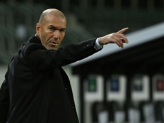 Zinedine Zidane pousse un coup de gueule. afp