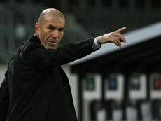Zidane commenta il sorteggio. AFP