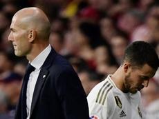La recrue de Zinedine Zidane. AFP