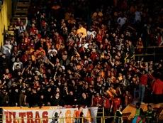 El Galatasaray le tiene mucha fe al choque. AFP