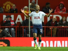 Moura was voted man of the match after his performance against Manchester United. AFP