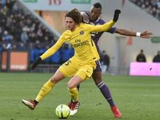 El Liverpool querría reforzar su medular con Rabiot. AFP