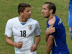 Chiellini reveals why he forgave Suarez for World Cup bite. AFP