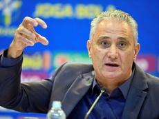 El seleccionador brasileño recibió duras críticas tras el partido. AFP