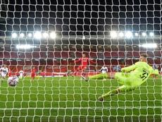 El Midtjylland-Liverpool se jugará en Dinamarca. AFP