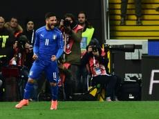 L'Italia supera la Bosnia per 2-1. AFP