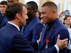 Mbappé quiere ir a los JJ.OO, pero la Eurocopa y un posible cisma lo complica. AFP