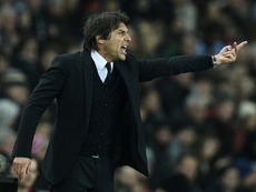 Antonio Conte believes that the best is yet to come from Chelsea. AFP