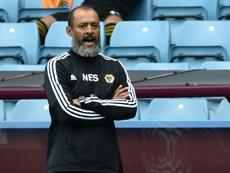 Nuno Espírito Santo, treinador do Wolves, comentou a derrota para o Chelsea. AFP