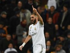 El Madrid quiere atar de por vida a Benzema. AFP