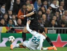 Mbappé vuelve al Santiago Bernabéu. AFP