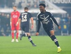 De actor forzoso y descenso a Tercera, a marcar un 'hat trick' en Ligue 1. AFP
