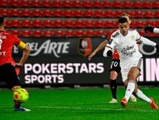 Ben Arfa joue un mauvais tour à Rennes. goal