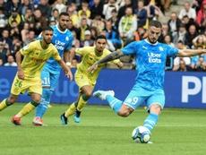Les compos probables du match de Ligue 1 entre Marseille et Nantes. AFP