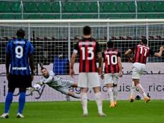 Il Milan vince il Derby. AFP