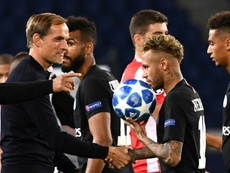 Tuchel ha parlato di Neymar in conferenza stampa. AFP