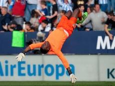 Kameni se moja por el Galatasaray-Madrid. AFP