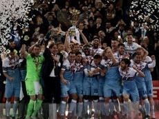 Cronaca di Atalanta-Lazio. AFP