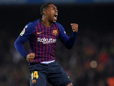 Everton want Malcom on loan. AFP