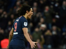 Edinson Cavani is a target for Atletico Madrid. AFP