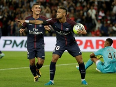 Neymar was the star of the show as PSG beat Toulouse. AFP