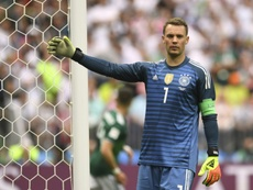 Neuer pulled no punches after exiting the World Cup. AFP