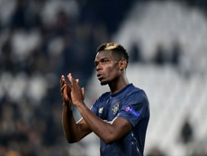 Pogba wants to leave United. AFP