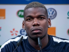 Pogba drops a hint over his potential future at Real Madrid. AFP