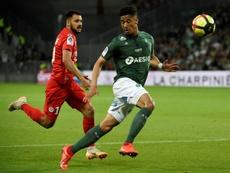 Saliba podría volver para jugar la final contra el PSG. AFP