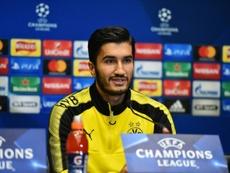 Sahin dejará el Borussia Dortmund en verano. AFP