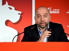 Lille envisage de réduire le salaire de ses joueurs. AFP