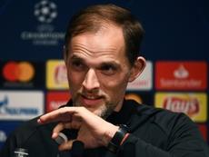 Tuchel's team now has four world-class strikers. AFP