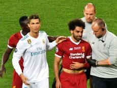 ¿Salah para reenganchar a Cristiano? AFP